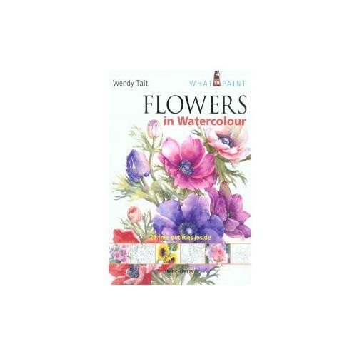 Flowers in Watercolour (SBSLA05), Tait, Wendy