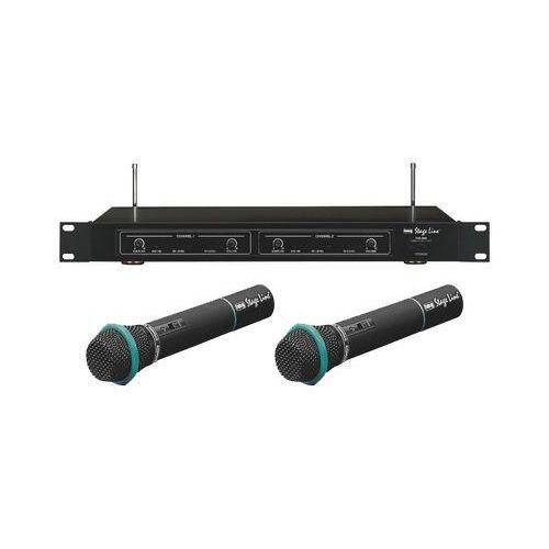 Podwójny mikrofon bezprzewodowy - odbiornik + dwa mikrofony doręczne TXS-860 / TXS-821HT / TXS-822HT