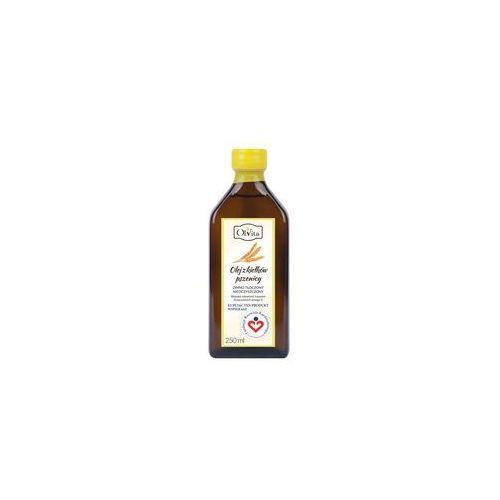 Olej z kiełków pszenicy tłoczony na zimno, nieoczyszczony 250ml - Olvita, 112