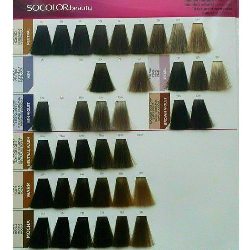 socolor beauty pielęgnująca farba do włosów odcień 4m (medium brown mocha) 90 ml marki Matrix