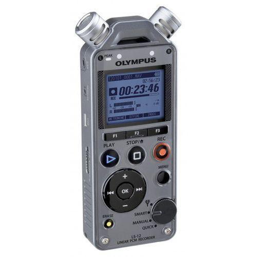 ls-12 + cl2 kit rejestrator cyfrowy + klips / uchwyt do rejestratorów z serii ls marki Olympus