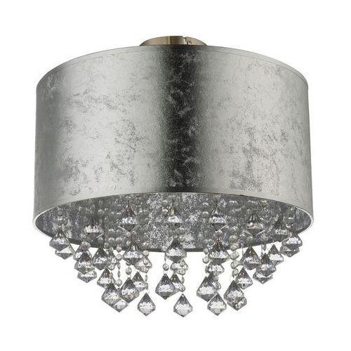 Plafon Globo Amy 15188D3 lampa sufitowa 1x60W E27 srebrny / nikiel mat, 15188D3