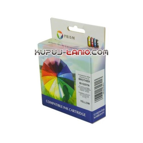 Prism Lc525xly tusz do brother () tusz do brother dcp-j100, brother dcp-j105, brother mfc-j200 (0498536529849)