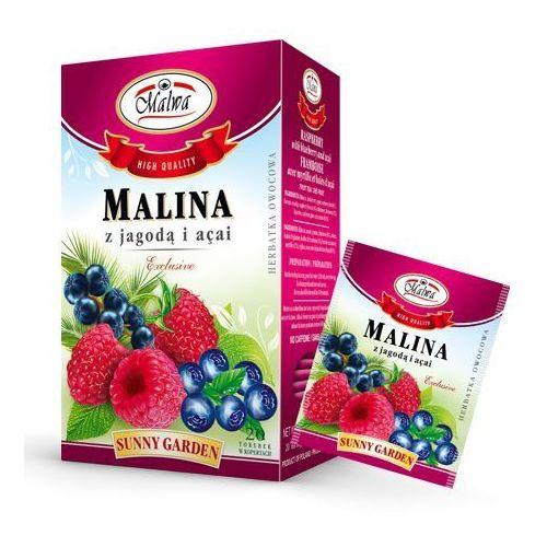 Malwa Herbata malina + jagoda i acai 20*2g