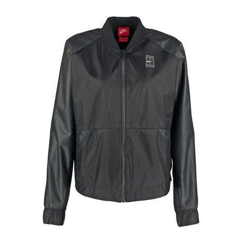 Nike Sportswear COURT Kurtka Bomber black/black, kolor czarny