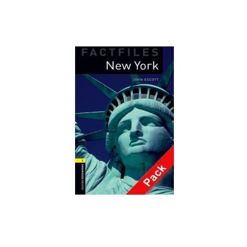 Oxford Bookworms Library Factfiles: Level 1:: New York audio CD pack