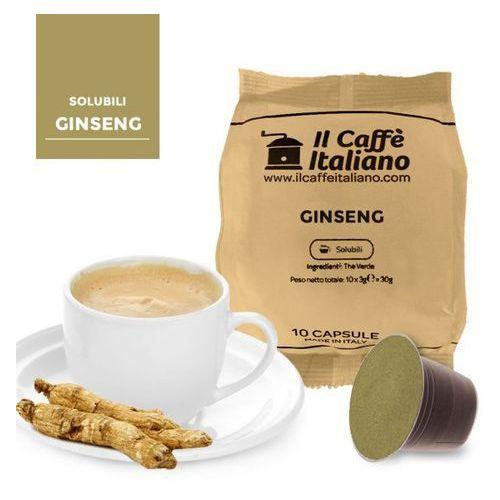 Nespresso kapsułki Ginseng (kawa aromatyzowana z żeń-szeniem) kapsułki do nespresso – 50 kapsułek