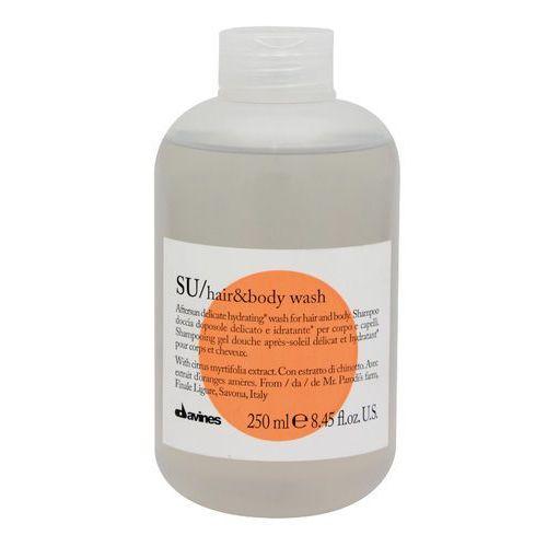Davines su citrus myrtifolia szampon po opalaniu do ciała i włosów (aftersun delicate hydrating wash for hair and body) 250 ml