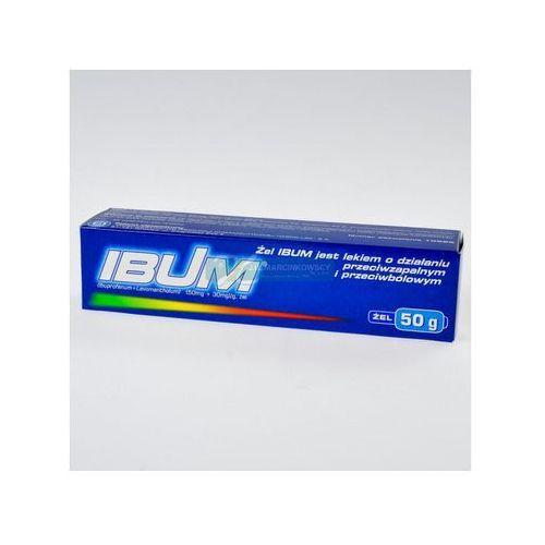 Ibum zel x 50g, produkt z kategorii- Maści i żele przeciwbólowe