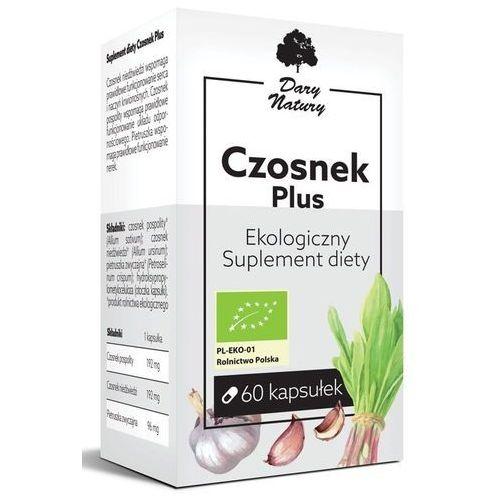 Czosnek Plus Eko 60 Kapsułek - Sulement Diety - Dary Natury (5903246861723)