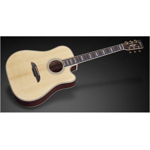 fd 28 jn sr vnt - jorg nassler signature - vintage transparent high polish natural tinted + eq gitara elektroakustyczna marki Framus