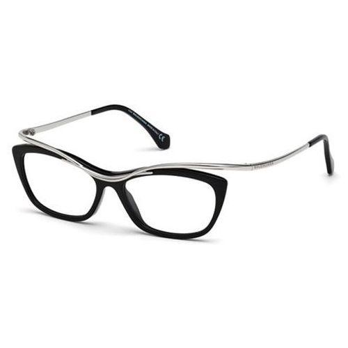 Okulary korekcyjne ba5022 001 marki Balenciaga