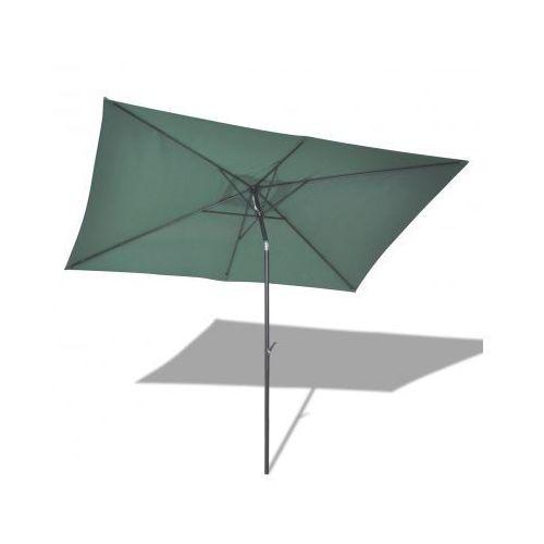 Parasol przeciwsłoneczny w prostokątnym kształcie (3x2 m), zielony, marki vidaXL do zakupu w VidaXL