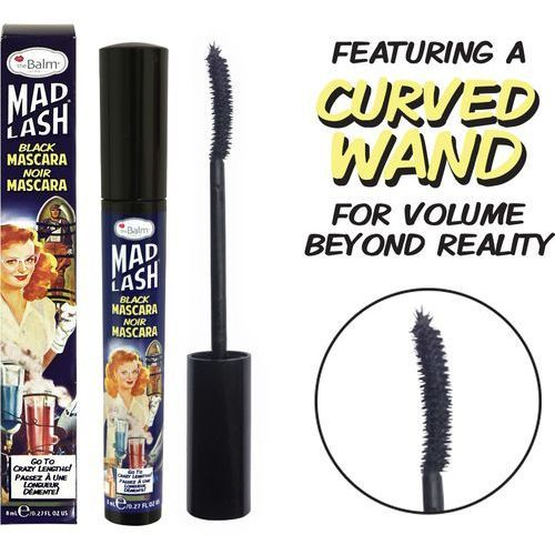 TheBalm Mad Lash Black Mascara | Podkręcająco-pogrubiający czarny tusz do rzęs 8ml