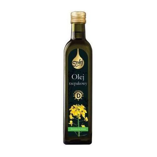 Oleofarm Olej rzepakowy z witaminą d 250ml (5904960012514)