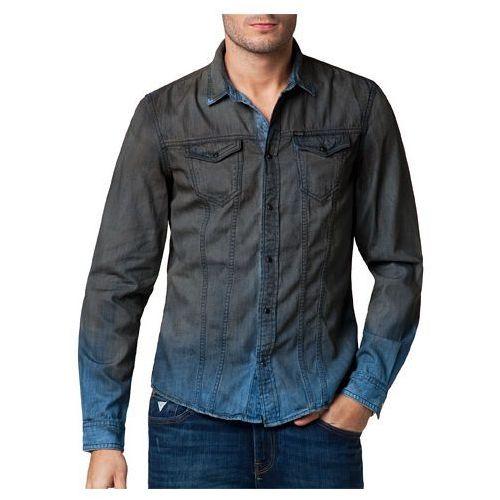 Koszula Guess Andrea 2 Bluesman Spray - sprawdź w Brand.pl