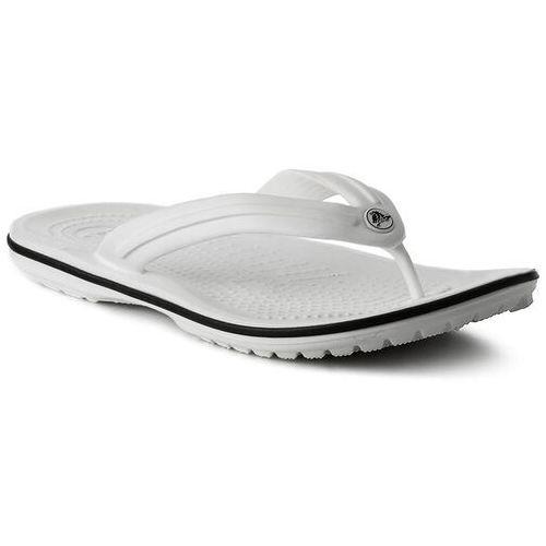 Japonki - crocband flip 11033 white marki Crocs