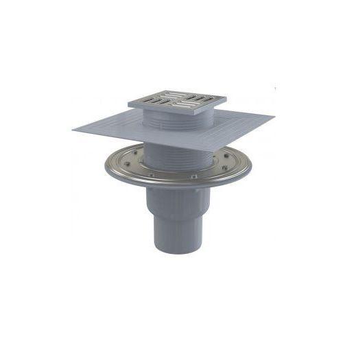 Kratka ściekowa 105x105 mm odpływ pionowy Alcaplast APV2324 - oferta [05bae90c811246d5]