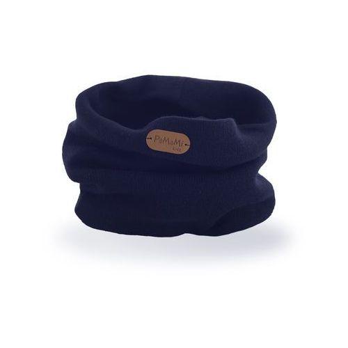 Komin chłopięcy PaMaMi - Granatowy - Granatowy, kolor niebieski