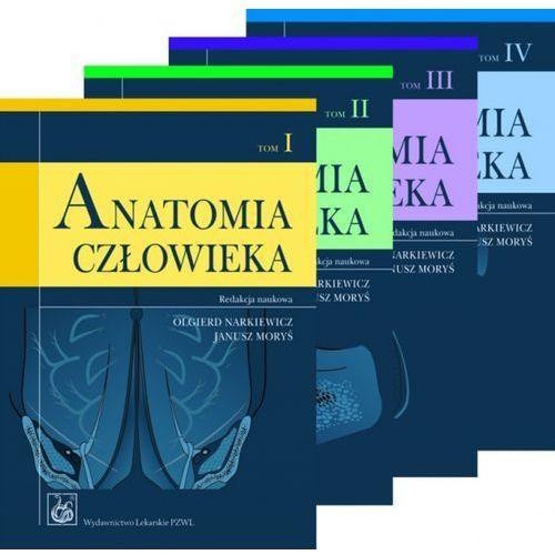 ANATOMIA CZŁOWIEKA NARKIEWICZ KOMPLET T. I-IV (2010)