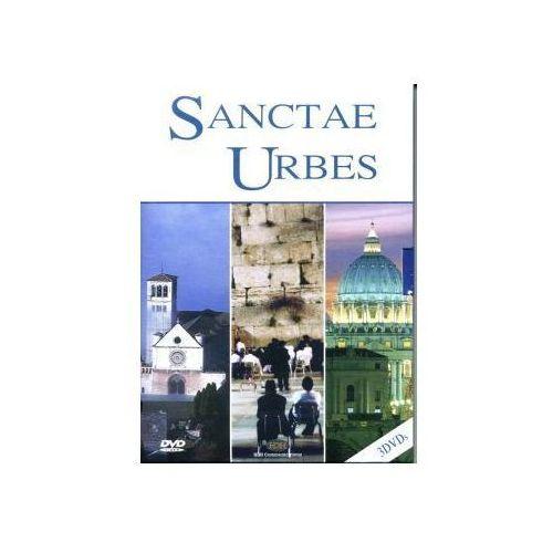 3 filmy dvd - święte miasta. asyż, jerozolima, rzym marki Fundacja lux veritatis