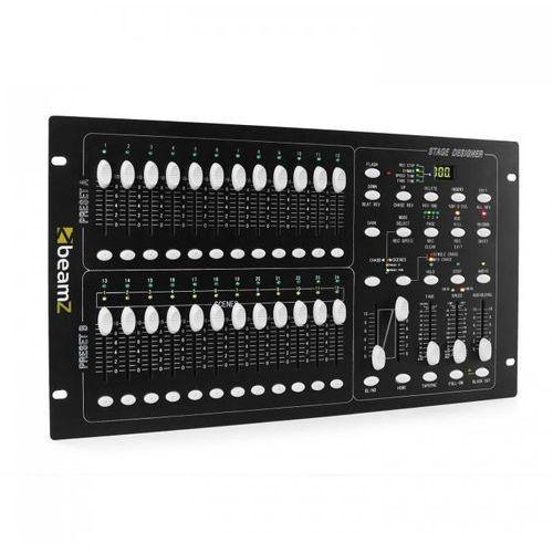 Beamz Dmx-024pro 24-kanałowy kontroler dmx konsola oświetleniowa