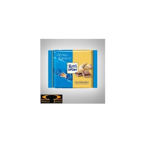 Ritter sport Czekolada winter- kreation vanillekipferl 100g