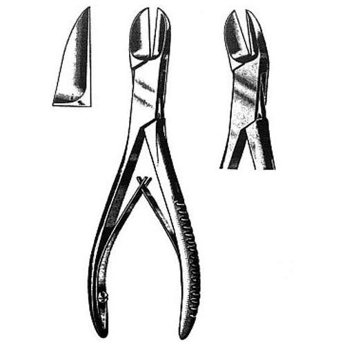 Odgryzacz kostny liston zagięty - 19cm marki Falcon