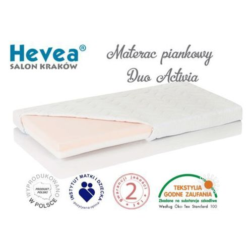 MATERAC PIANKOWY DUO ACTIVIA 160x70 Sklep firmowy Hevea w Krakowie - RABATY i GRATISY sprawdź