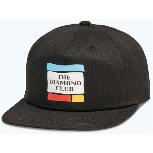 czapka z daszkiem DIAMOND - Member Unconstructed 5-Panel Black (BLK) rozmiar: OS, kolor czarny