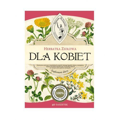 Herbarium św. franciszka Herbatka ziołowa dla kobiet darmowa dostawa od 65 zł (5901691470873)
