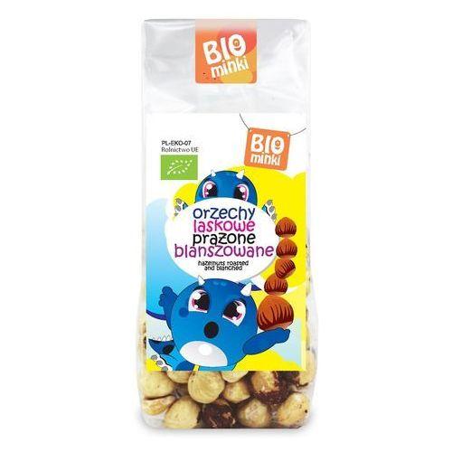 Orzechy laskowe prażone blanszowane bio 100 g - biominki marki Biominki (przekąski dla dzieci)