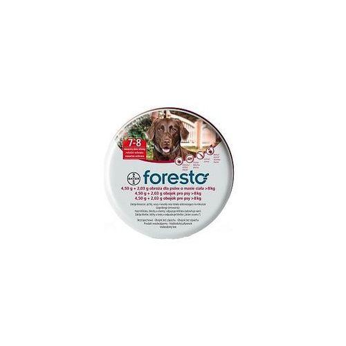 Bayer Foresto Obroża 4,5g + 2,03g dla psów >8kg