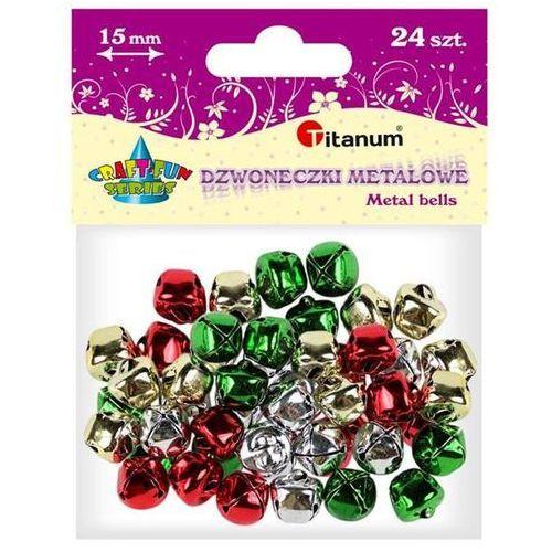 Titanum Dodatek dekoracyjny craft-fun dzwoneczki dekoracyjne 1,5 mix diyxm040 (m044) (5907437666210)