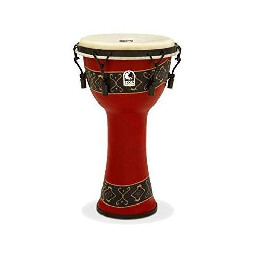 Toca (to803232) djembe freestyle mechanically tuned bali red