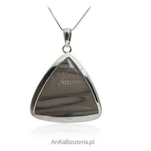 Wisior srebrny z krzemieniem pasiastym ze sklepu AnKa Biżuteria