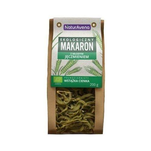 200g makaron pszenny z młodym jęczmieniem wstążka cienka bio marki Naturavena