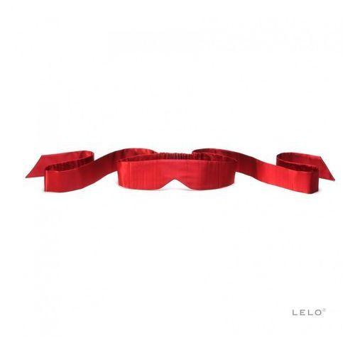 Lelo Intima Silk Blindfold – Opaska na oczy jedwabna czerwona, 5501703 (5513740)