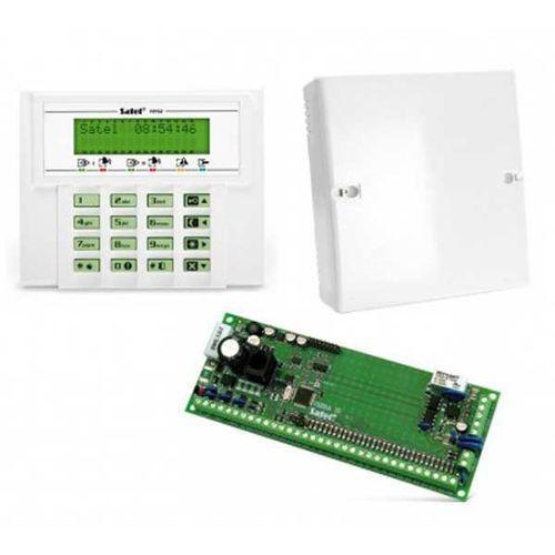 Komplet: Centrala alarmowa VERSA 15, manipulator VERSA-LCD-GR, obudowa OPU-4 P (bez transformatora), VERSA 15-KLCD