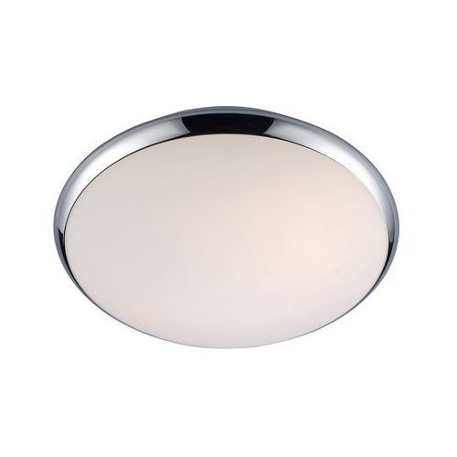 Plafon LAMPA sufitowa KREO 5005-S Italux okrągła OPRAWA do łazienki IP44 chrom biała (5900644405672)