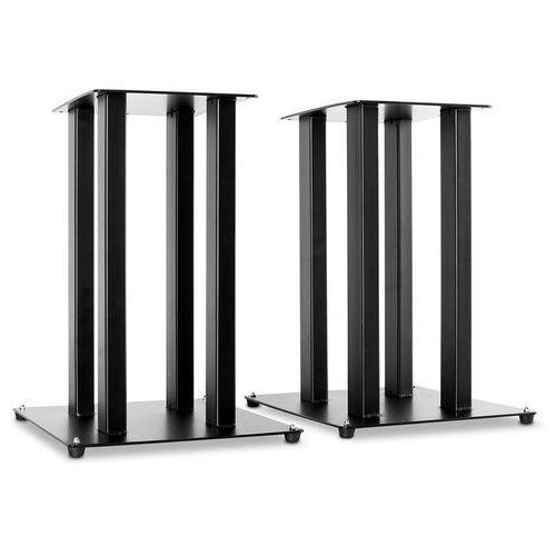 Para stojaków kolumnowych w kolorze czarnym, 2 statywy wyprodukowany przez Elektronik-star