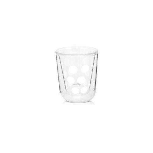 Zak!designs Zak! - szklanka 75 ml z podw. ściankami, biała 1358-4716