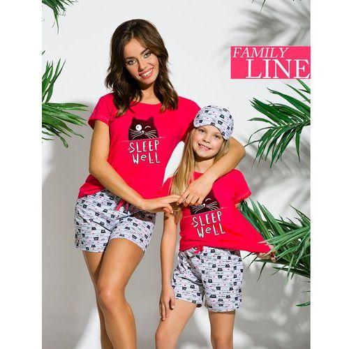 5ffb97205ee695 Piżama hania 2200 kr/r 86-116 '18 110, miętowo-szary, taro marki Taro 40,93  zł Letnia piżama dziewczęca z wysokiej jakości bawełny.