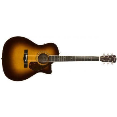 pm-4ce auditorium limited, ovankgol fingerboard, vintage sunburst w/case gitara elektroakustyczna marki Fender