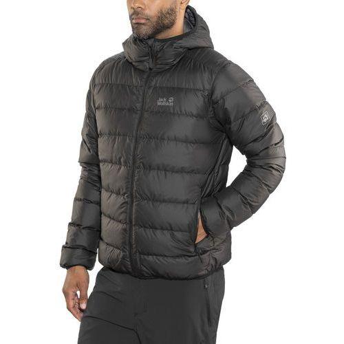 Jack wolfskin helium kurtka mężczyźni czarny xl 2018 kurtki zimowe i kurtki parki