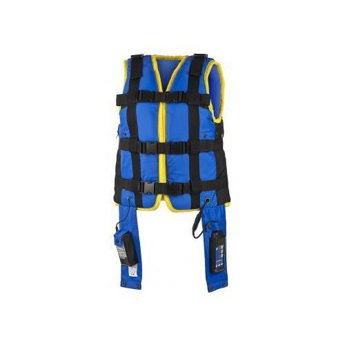 Vibra Vest mobilna kamizelka oscylacyjna HFCWO do rehabilitacji oddechowej drenażu oskrzelowo płucnego i terapii dystrofii, miopatii i innych, 15