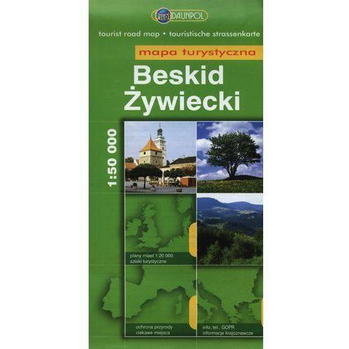 Beskid Żywiecki Mapa turystyczna 1:50 000 (2009)