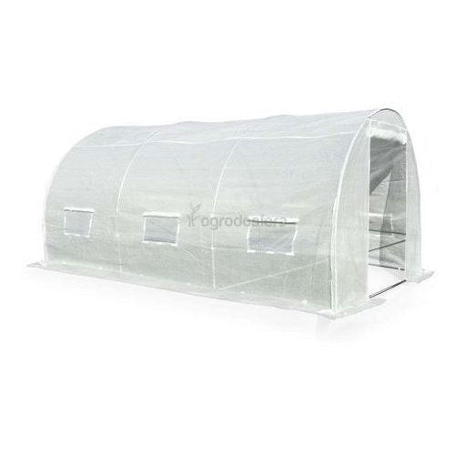 Namiot z wielosezonową folią 2x4,5m biały - Transport GRATIS!