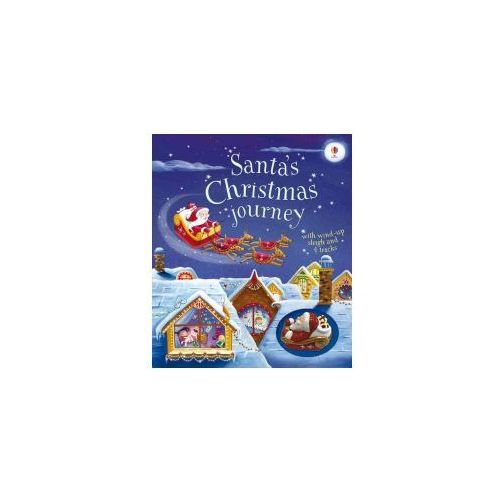 Santa's Christmas Journey With Wind-up Sleigh (9781474906401)