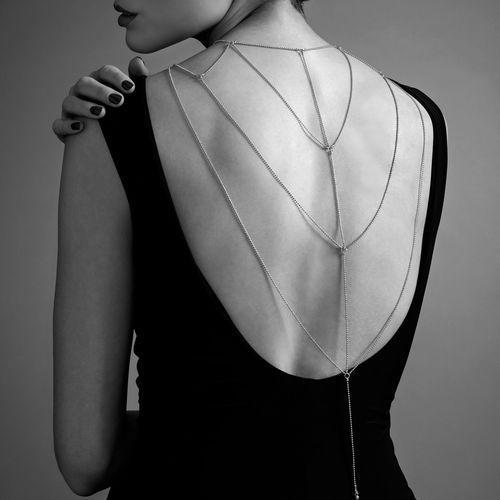 Bijoux indiscrets Łańcuszki na plecy i dekolt - magnifique back & cleavage chain gold